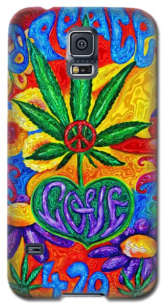 Love And Peace Galaxy S5 Case