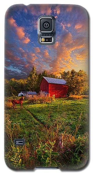 Love's Pure Light Galaxy S5 Case