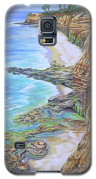 Low Tide Sunset Cliffs Galaxy S5 Case