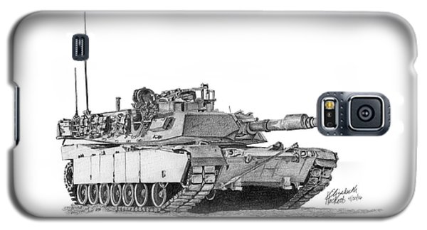M1a1 Tank Galaxy S5 Case