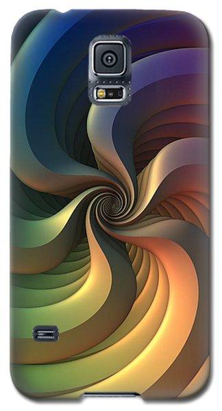 Galaxy S5 Case featuring the digital art Maelstrom by Lyle Hatch