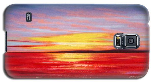 Magic At Sunset Galaxy S5 Case