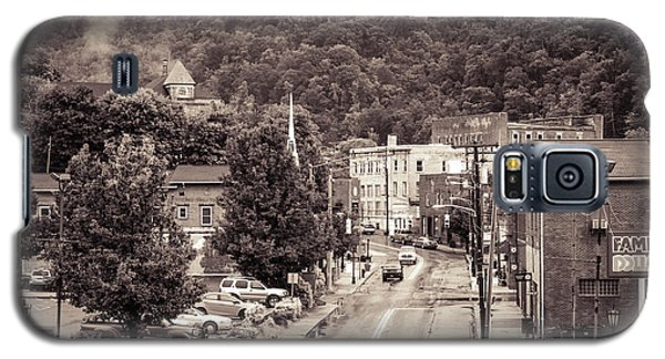 Galaxy S5 Case featuring the photograph Main Street Webster Springs by Thomas R Fletcher