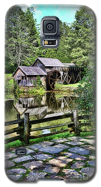 Galaxy S5 Case featuring the photograph Marby Mill Pathway by Paul Ward