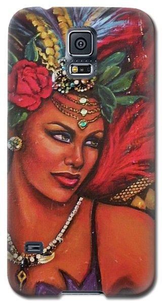 Mardi Gras Galaxy S5 Case by Alga Washington