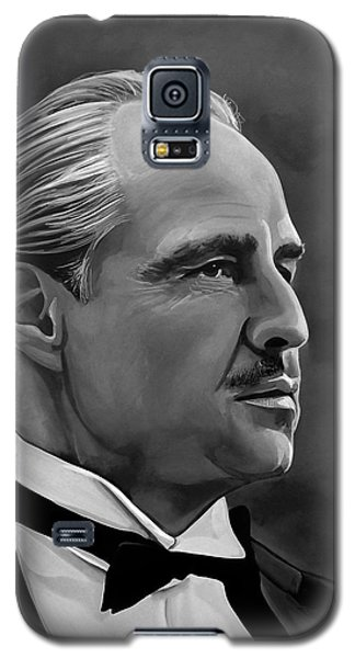 Marlon Brando Galaxy S5 Case by Meijering Manupix