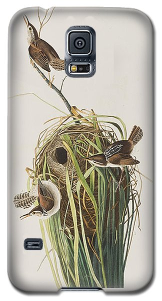 Marsh Wren  Galaxy S5 Case by John James Audubon