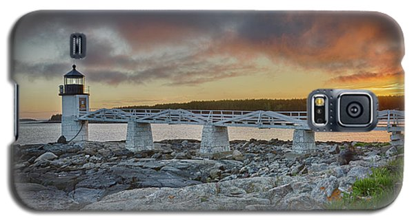 Marshall Point Lighthouse At Sunset, Maine, Usa Galaxy S5 Case