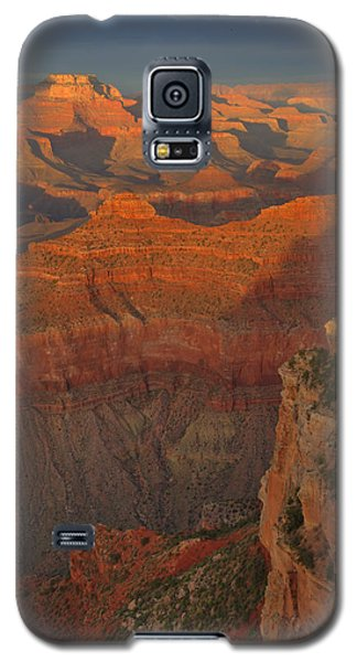 Mather Point Sunset Galaxy S5 Case by Stephen  Vecchiotti
