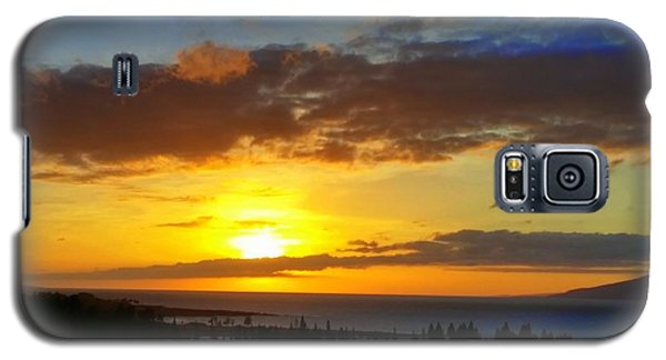 Maui Sunset At The Plantation House Galaxy S5 Case