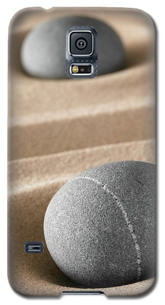 Galaxy S5 Case featuring the photograph Meditation Stones by Dirk Ercken