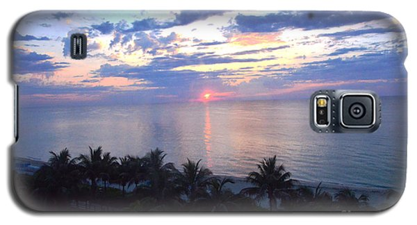 Miami Sunrise Galaxy S5 Case by Pravine Chester