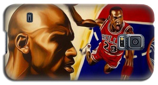 Michael Jordan Galaxy S5 Case by Darryl Matthews
