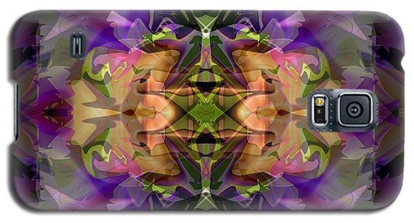 Galaxy S5 Case featuring the digital art Mind Portal by Lynda Lehmann