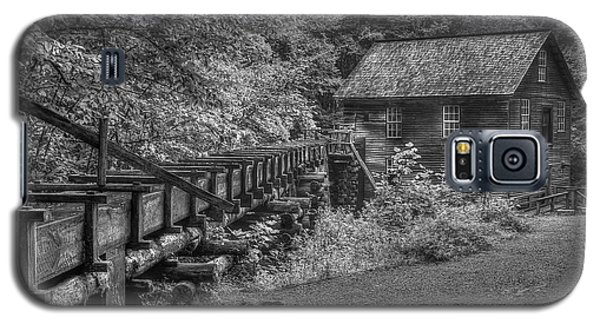 Galaxy S5 Case featuring the photograph Mingus Mill 3 Mingus Creek Great Smoky Mountains Art by Reid Callaway