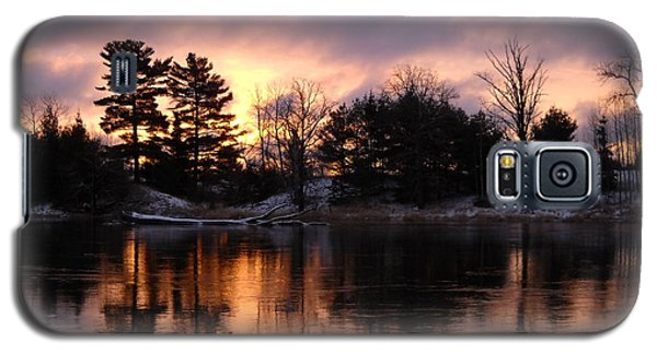 Mississippi River Dawn Light Galaxy S5 Case