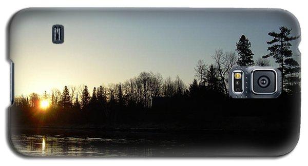 Mississippi River Sunrise Reflection Galaxy S5 Case by Kent Lorentzen
