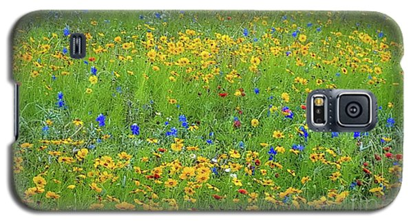 Mixed Wildflowers In Texas 538 Galaxy S5 Case