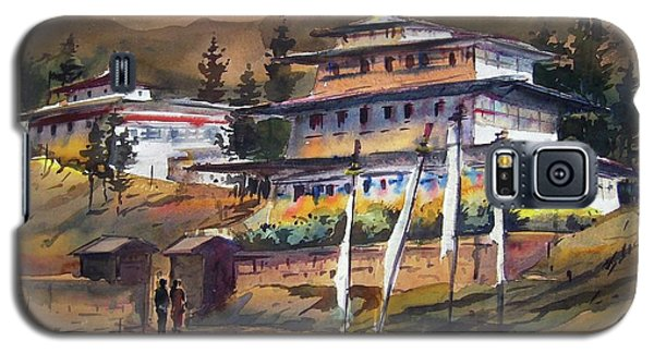 Monastery In Himalaya Mountain Galaxy S5 Case