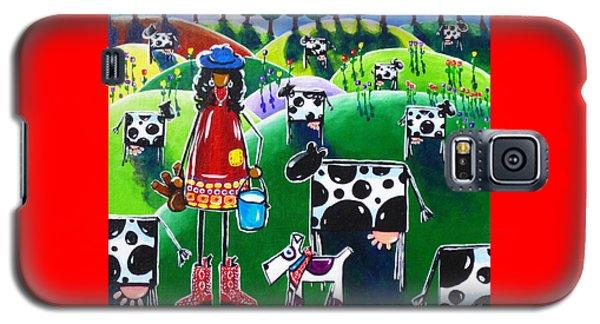 Moo Cow Farm Galaxy S5 Case by Jackie Carpenter