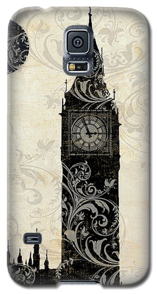 Moon Over London Galaxy S5 Case by Mindy Sommers