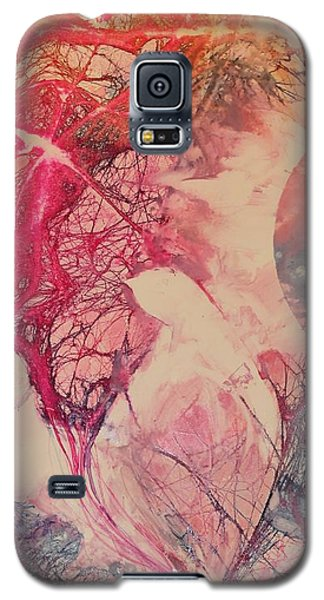 Galaxy S5 Case featuring the painting Moonsong by Elizabeth Carr