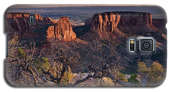 Morning At Colorado National Monument Galaxy S5 Case
