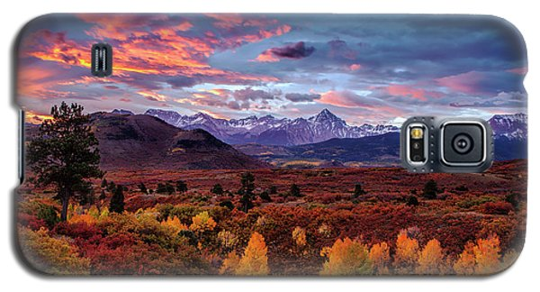 Galaxy S5 Case featuring the photograph Morning Drama In The Colorado Rockies by Andrew Soundarajan