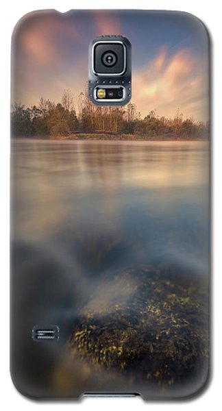 Galaxy S5 Case featuring the photograph Morning On River by Davorin Mance