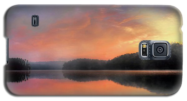 Galaxy S5 Case featuring the photograph Morning Solitude by Darren Fisher