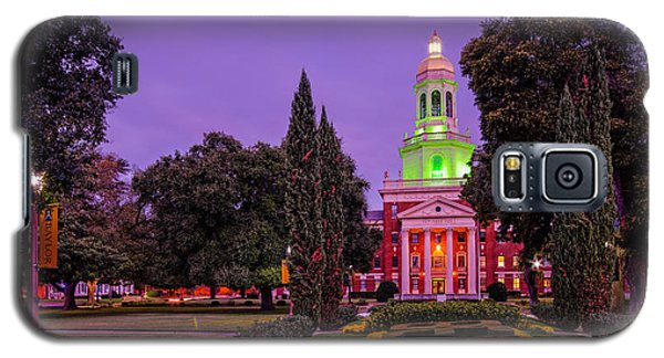 Morning Twilight Shot Of Pat Neff Hall From Founders Mall At Baylor University - Waco Central Texas Galaxy S5 Case