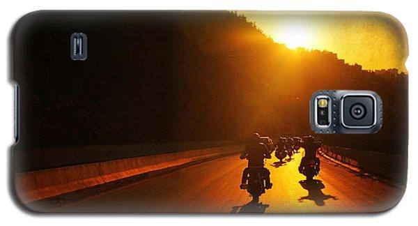 Motorcycle Ride Galaxy S5 Case