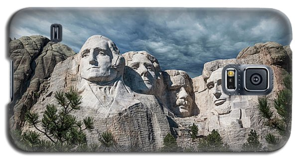 Mount Rushmore II Galaxy S5 Case by Tom Mc Nemar