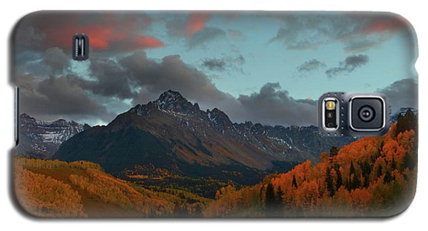 Mount Sneffels Sunset During Autumn In Colorado Galaxy S5 Case