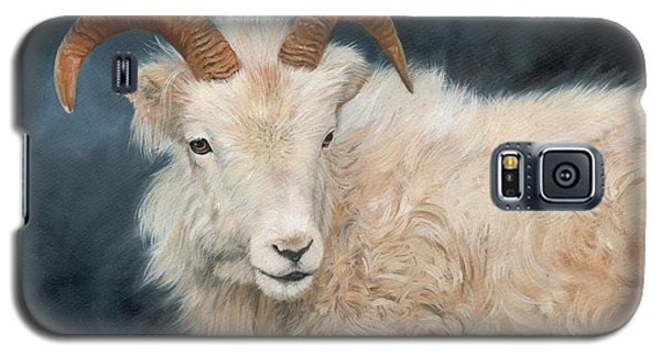 Mountain Goat Galaxy S5 Case by David Stribbling