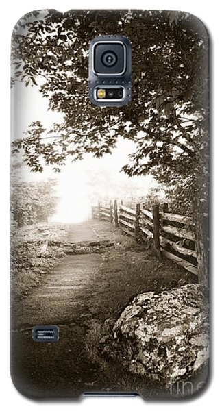 Galaxy S5 Case featuring the photograph Mountain Morning by Janice Spivey