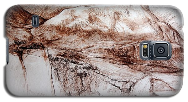 Mountains In Snowdonia Galaxy S5 Case by Harry Robertson