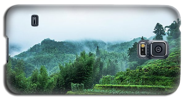 Mountains Scenery In The Mist Galaxy S5 Case
