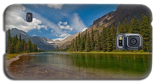 Moutain Lake Galaxy S5 Case by Sebastian Musial