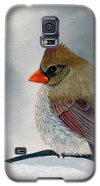 Mrs. Cardinal Galaxy S5 Case