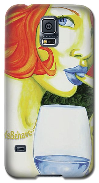 Ms Behave Galaxy S5 Case