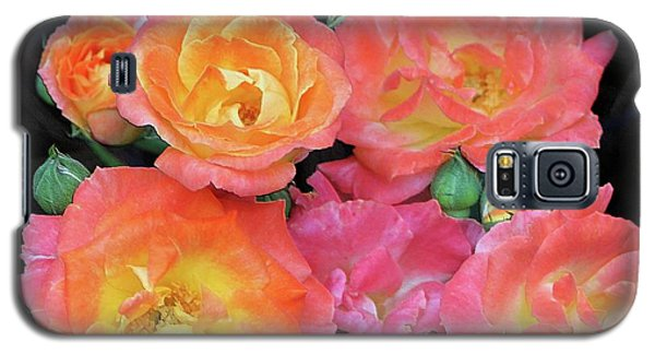 Multi-color Roses Galaxy S5 Case