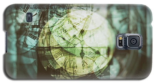 Multi Exposure Clock   Galaxy S5 Case