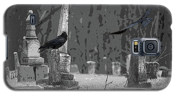 Galaxy S5 Case featuring the photograph Murder Of Crows by Rowana Ray