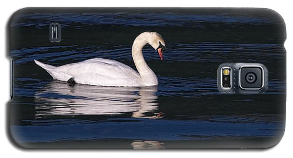 Galaxy S5 Case featuring the photograph Mute Swan  by Sharon Talson