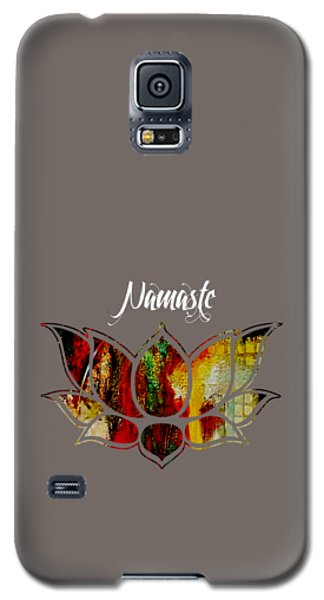 Namaste Galaxy S5 Case by Marvin Blaine