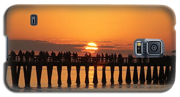 Naples Pier At Sunset Galaxy S5 Case