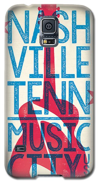 Nashville Tennessee Poster Galaxy S5 Case