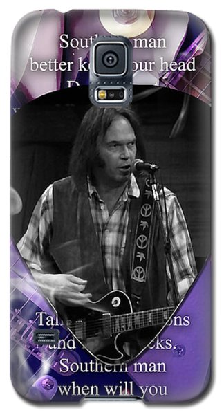 Neil Young Art Galaxy S5 Case