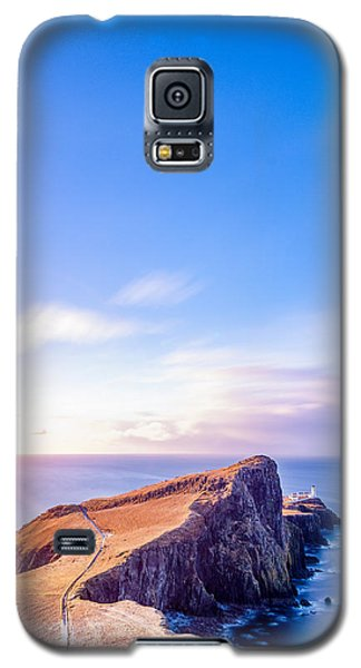 Neist Point Lighthouse At Dawn Galaxy S5 Case